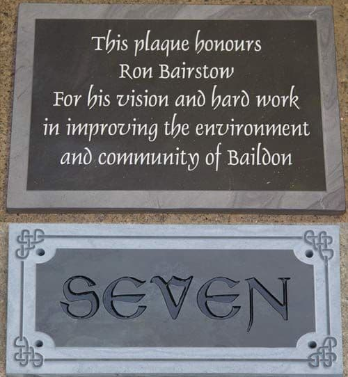 Made to Measure Slate Signs & Memorials 20mm thick  The Sign Maker Shop